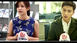 The Interview Chen Xiao and Michelle Chen in The Condor Heroes 2014[Full]