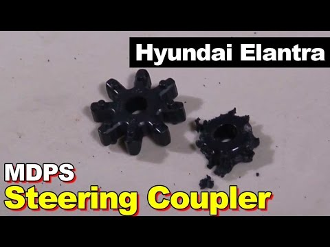 2009 Hyundai Elantra Motor Driven Power Steering Coupler Replacement