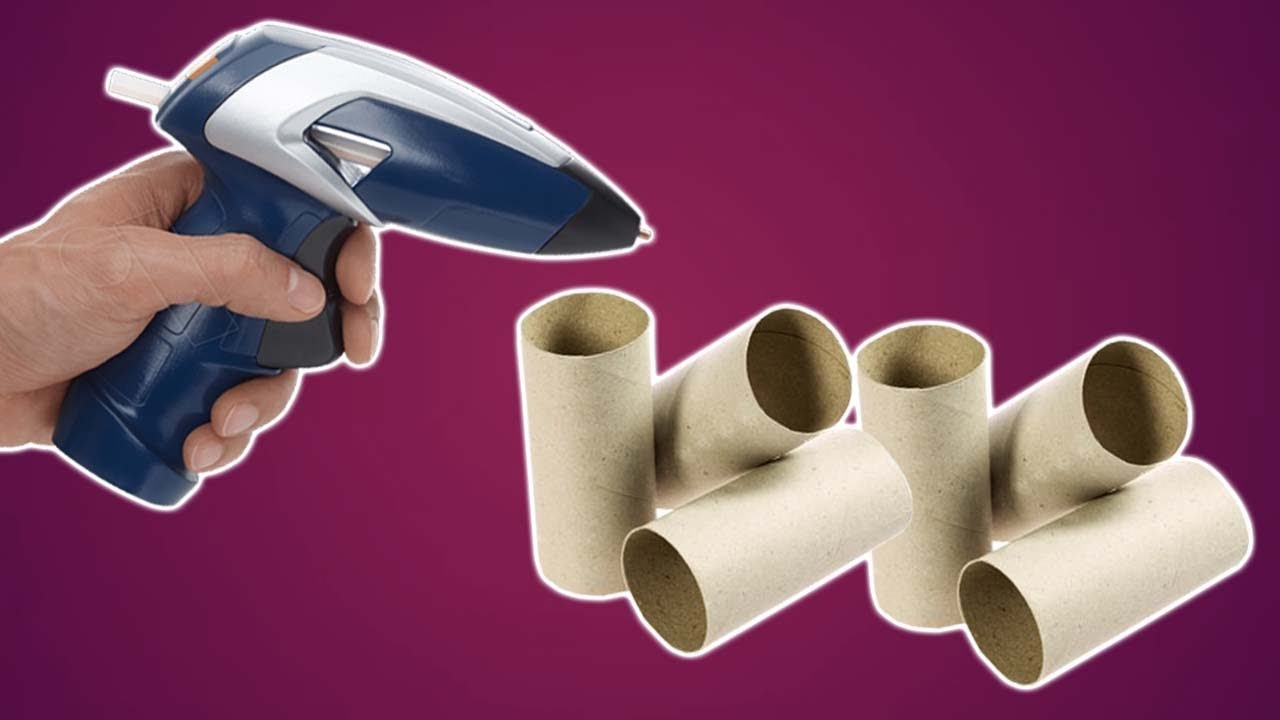 How To Reuse Empty Toilet Paper Roll|Best Out Of Waste - YouTube
