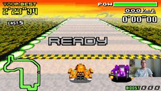 Let's Play F-Zero - MaxVelocity I Part 147 I Jet vs. Violet in der Pawn League