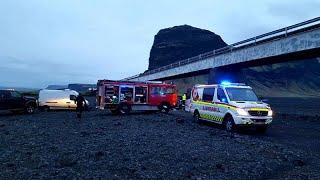 مقتل 3 سياح بريطانيين في حادث سير مروع في إيسلندا