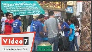 بالفيديو.. تنظيم  دوريات الأمان لظبط المتحرشين بميدان طلعت حرب