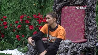 Zadruga 3   Natalija Razgovara Sa Drvetom Mudrosti   18.09.2019.