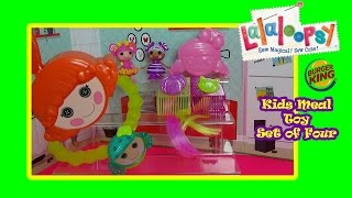2015 Burger King Kids Meal Lalaloopsy Toy Review