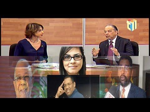 Huchi Lora comenta sobre fotografía de Olga Dina y Manuel Rivas director de la OMSA 2/2