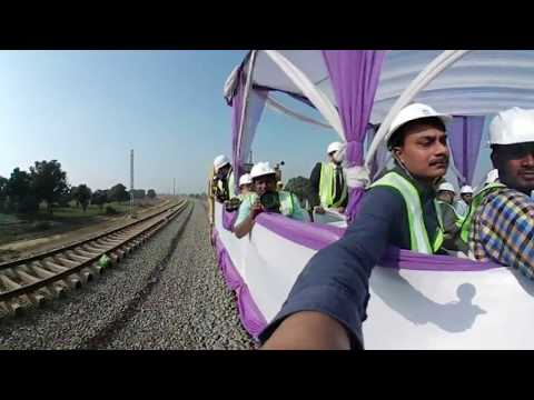 360 Degree Video: Dedicated Freight Corridor on fast track with eye on 2019 polls
