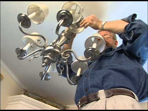 How To Install An Overhead Light Fixture