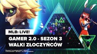 (LIVE) MIRACULUM S3: Gamer 2.0 (13) | omówienie - pogadanki na spontanie!