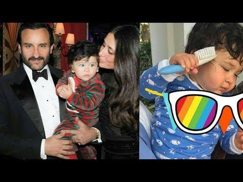 Unseen personal moments of Saif Ali Khan and Kareena Kapoor with cutie Taimur Ali Khan !