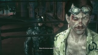 Batman Arkham Knight Post Game Villain Dialogue