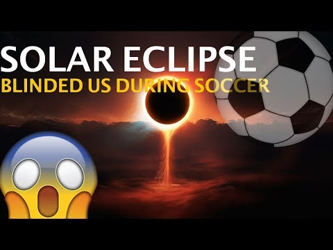Solar Eclipse Blinded Us!! + Dizzy Penalty Challenge! Vlog #1!