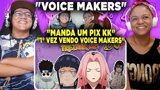 MINHA MÃE REAGINDO A Malandragem Ninja - Episódio 9: TREINAR NÉ? | Voice Makers