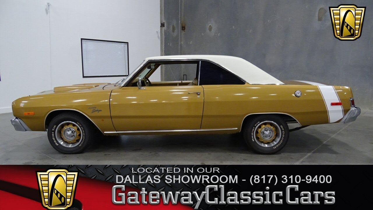 1974 Dodge Dart Swinger #287-DFW Gateway Clic Cars of Dallas ...
