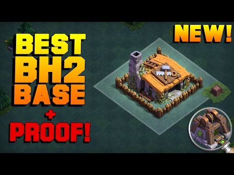 BEST Builder Hall 2 Base 2017 W/ LEGIT PROOF | NEW CoC Builder Base Update Strategy | Clash Of Clans
