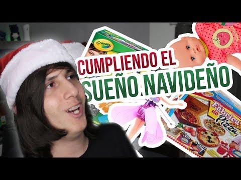 CUMPLIENDO EL SUEÑO DE TODO NIÑO EN NAVIDAD! (Si, en Noviembre.)