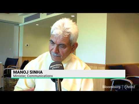 Manoj Sinha On The MTNL's Revival Plan
