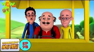 Motu Patlu Cartoons In Hindi | Animated cartoon | Road roller | Wow Kidz