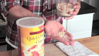 Can I Make Applesauce Oatmeal Bread With Instant Oatmeal? : Cooking Techniques & Food Storage