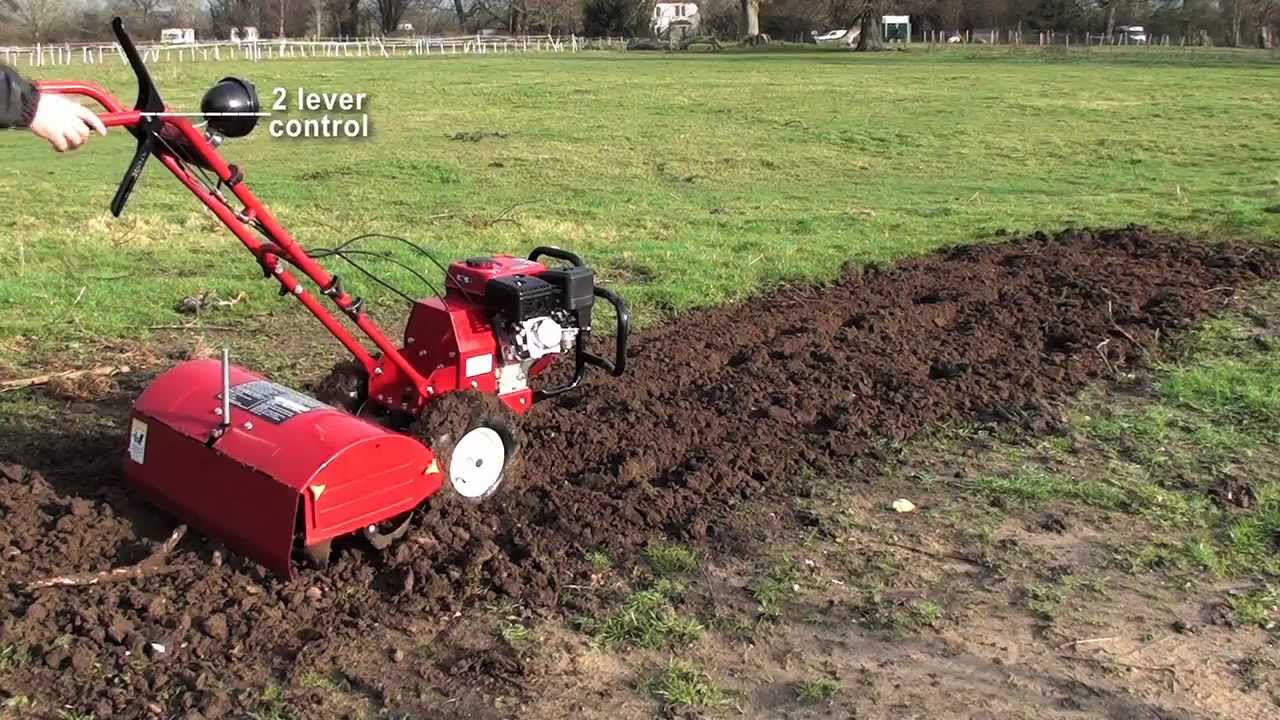 pleasurable home depot garden tillers.  Garden Rear Tine Tiller Rotavator TP700 from Titan Pro YouTube