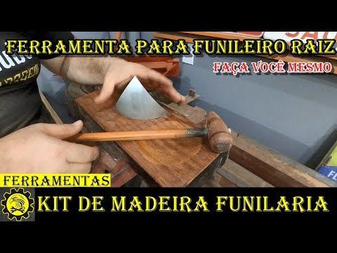 Kit de Madeira para Funileiro Raiz