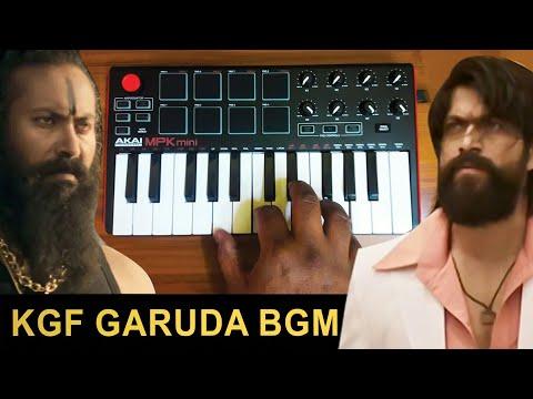KGF - Mass Garuda Entry Bgm | Cover By Raj Bharath |#yash #ravi basur
