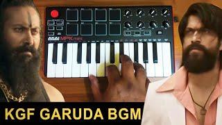 KGF - Mass Garuda Entry Bgm | Cover By Raj Bharath |#yash #ravi_basur