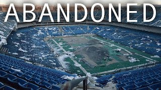 Inside ABANDONED Pontiac Silverdome (IMPLOSION)