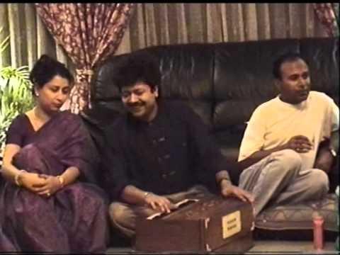 Kumar Biswajit at our Uttara HouseJuly 1998