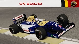 On Board #97 : Williams FW14 by ASRF (Mexico 88') [4K]