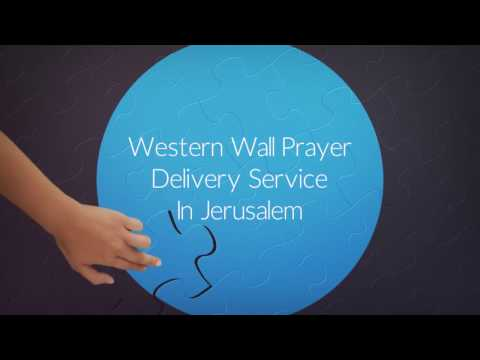 Western Wall Prayer Delivery Service in Jerusalem - Promotio