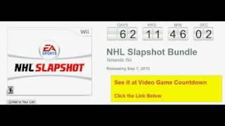 NHL Slapshot Bundle Wii Countdown