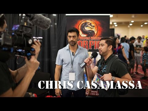 Mortal Kombat's Chris Casamassa  Talks MK X, Tetris Movie and More!