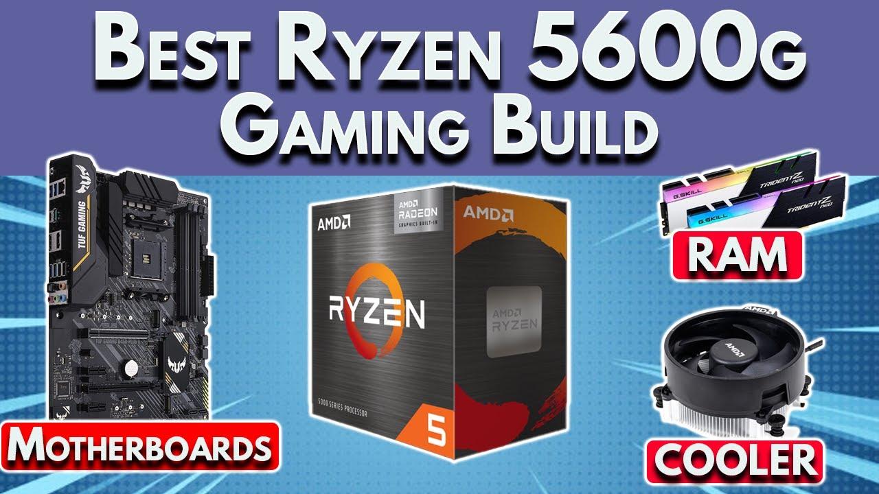 🔥 $530 🔥 Best Ryzen 5600g Gaming PC Build 2021 - Motherboards, RAM Speed & More!