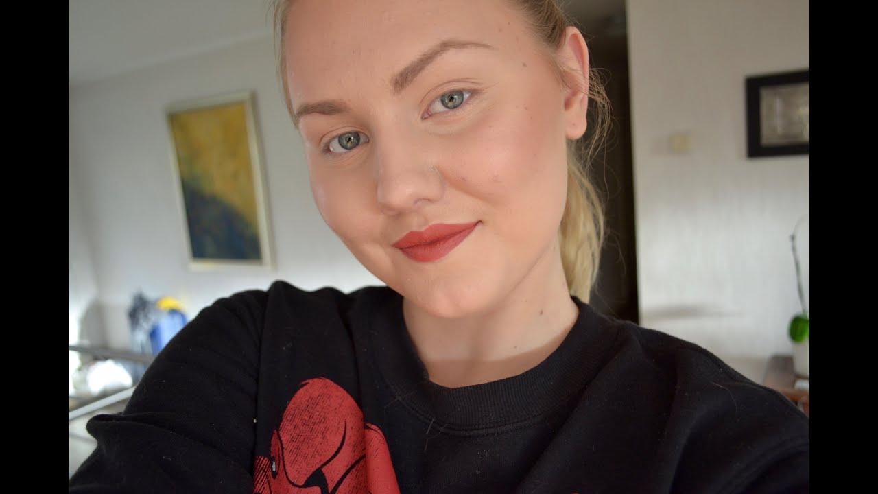 Trendy look - Bold Lips and No Mascara | Josefine Franzén ...
