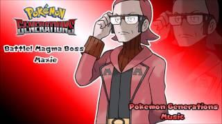 Pokémon Generations - Battle! Magma Leader Maxie [HQ Cover]