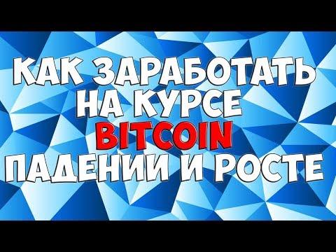 💥Как заработать на курсе Bitcoin, падении и росте?