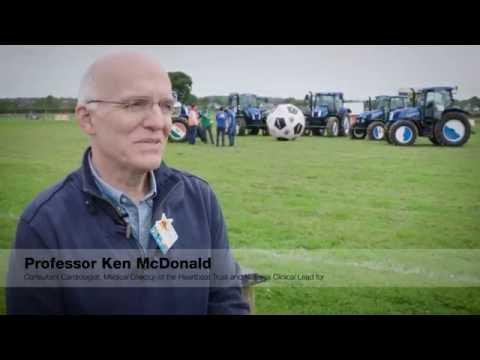 Prof Ken McDonald Medical Director of The Heartbeat Trust