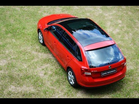全車系標配「天空」Škoda Rapid Spaceback 新車試駕