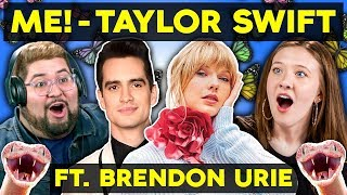 [15.36 MB] Generations React To Taylor Swift - ME! (feat. Brendon Urie of Panic! At The Disco)