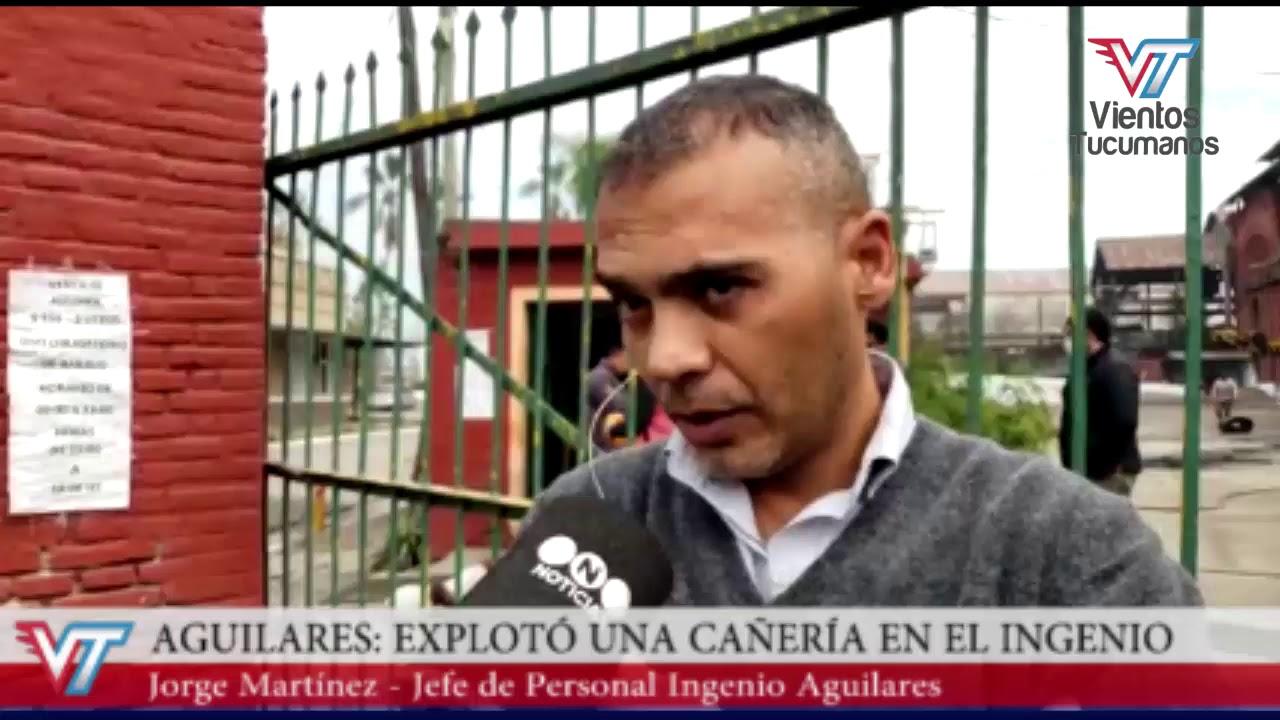 Explosión en el ingenio de Aguilares - Tucumán