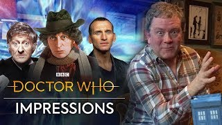 Doctor Who Impressions with Jon Culshaw | Doctor Who Magazine