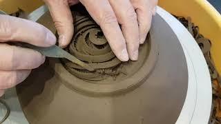도자기그릇 굽깍는 방법 그릇 쉽게 만드는방법 도자기그릇…