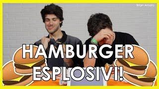 Hamburger Esplosivi! Feat Jaser | Challenge| Brian Amato