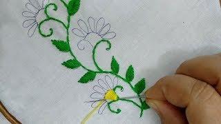 Lindo ponto de bordado para ser aplicado em suas peças de artesanato ou roupas