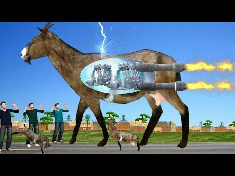 सुपर विशाल बकरी जादुई कहानी 3D Hindi Kahaniya Funny Giant Goat Kahani Bed Time Stories हिंदी कहानिया
