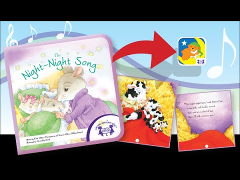 Night Night Song - A Twin Sisters® Educational Interactive Animated Story Book