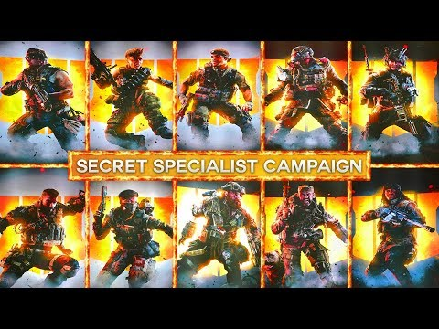 Black Ops 4: The Secret Specialist Campaign COD BO4 May Showcase