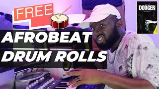 FREE DOWNLOAD AFROBEAT DRUM ROLLS AND FILLS PACK BY HEMMZYONTHETRACK