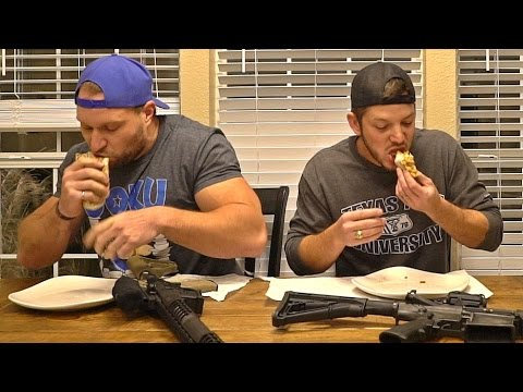 Burrito Eat Off vs Demolition Ranch! (TEXAS EDITION)