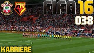 FIFA 16 KARRIERE SEASON 1 #038: FA CUP: Southampton vs  FC Watford «» Let